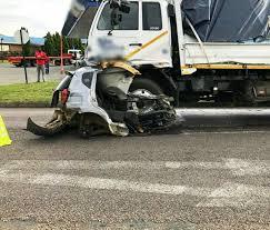 PICTURES] Man survives horrific car crash