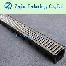 plastic hdpe drainage channel shower