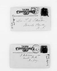 Letter from Augusta Matthews (Mrs Albert E.) Foote to Thomas Alva Edison,  August 27th, 1879 · Edison Papers Digital Edition