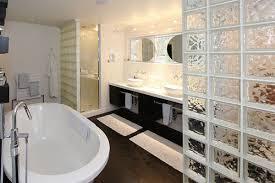 glass block furniture. View In Gallery Glass Block Adds Privacy A Modern Bathroom Furniture