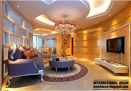 Pop Designs For Living Room Suspended False Ceiling Designs For Modern Living Room With