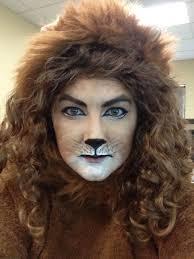 cowardly lion face paint