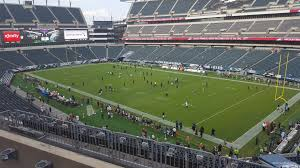 seat view for lincoln financial field section c6