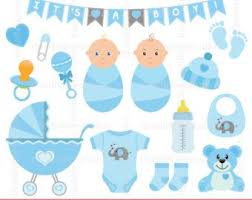 Baby Things Clipart Baby Girl Clip Art Set Baby Things Clip Art Baby Girl Etsy