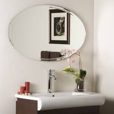 Oval Mirrors Bathroom Long Oval Mirror Bathroom Mirrors On Oval Mirror Mosaic Oval