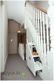 Solemn Pull Out Of Cabinets Shoes Racks As Storage Under Stairs Ideas With  White Rail Banister In Basement Decors Ideas