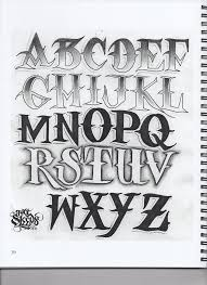 cool tattoo lettering fonts