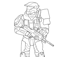 Small Picture Printable Halo Reach Coloring Pages Coloring Me
