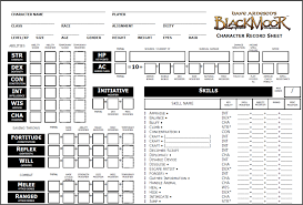 dnd 3 5 character sheet technology thursday free d d character sheet resources