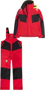 Musto Drysuit Size Chart 2019 Musto Womens Br2 Coastal Jacket Swjk015 Trouser Swtr010 Combi Set Red