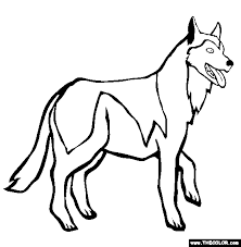 Small Picture Cute Husky Dog Coloring Pages Coloring Coloring Pages