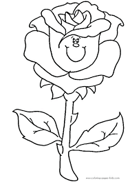 roses coloring pages 2 good rose flower coloring pages for elegant printable cute free flowers patterns