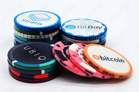 While they all allow you to play poker with bitcoin, they have very different value propositions. Crypto Poker Chip Bitcoin Poker Chips Manufacturer