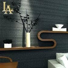 modern wall paper 3d plain grey