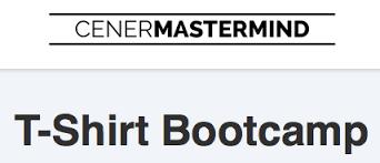 Justin Cener – T-Shirt Bootcamp (+Bonuses)