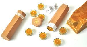 Apis Cera Hortense Beeswax Tea Lights Candles