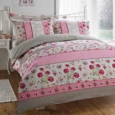 pink fl double duvet covers sweetgalas
