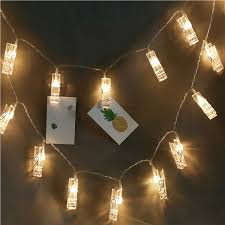 Battery Powered Clip On Light Us 7 75 32 Off Photo Clip Remote String Lights Battery Powered Christmas Decoration Fairy String Led Lights In Lighting Strings From Lights