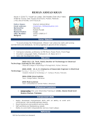 Resume Template Word 2018