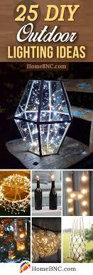 diy outdoor lighting ideas. 25 Fun DIY Outdoor Lighting Ideas To Light Up Your Exterior On A Budget Diy