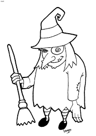 Small Picture adult witch coloring page flying witch coloring page witch hat