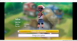 Major graphical glitches right from the start in Let's Go Pikachu! Any  fix?: yuzu