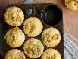 Chicken Pot Pie Cornbread Muffins Recipe Scott Hocker Food Wine