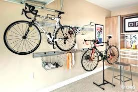 bike rack for garage racks storage within hanging bikes in ideas prepare ceiling diy han
