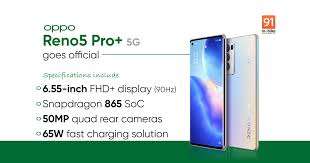 OPPO Reno5 Pro+ 5G launched: price ...
