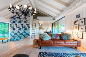 los angeles leather couch cleaner living room eclectic with large glass sliding door area rugs rooms