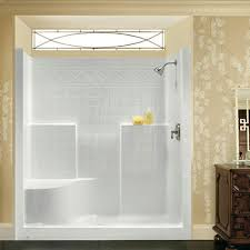 shower enclosures with bench.  Shower Kits With Base U0026 Wall Combination And Shower Enclosures With Bench W