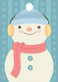 <b>Snowman</b> Holiday Card | <b>Cute cartoon</b> drawings, Holiday <b>cartoon</b> ...