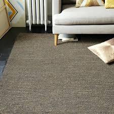 jute rugs 8x10 mini pebble jute wool rug soot natural west elm jute rugs 8x10