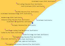 Myrtle Beach Springmaid Pier South Carolina Tide Chart