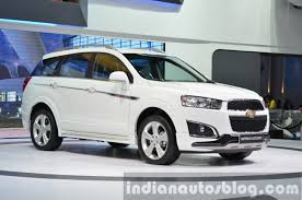2014 Chevrolet Captiva Sport Edition at the 2014 Thailand Motor ...