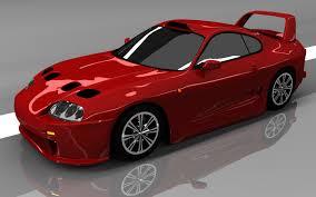 3D Toyota Supra - 3D Model | 3D-Modeling | Pinterest | Toyota ...