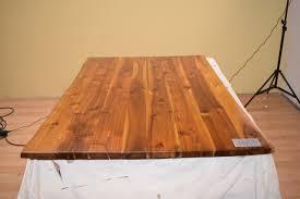 Sam Baumkanten Tisch Massiv Holz Esszimmertisch 120x80 Cm B Ware