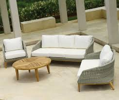 image modern wicker patio furniture. modern rattan garden lounge set in 3 colours high quality retro style furniture image wicker patio r