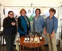 L to R Jenevieve Johnson, Sue Dana, Erin Hunter and Wendy Reeves - Photo by  Jo Robbins - The Vermont Journal & The Shopper