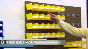 Pegboard storage bins Baskets Storage Kits Pegboard And Stacking Bins Youtube Storage Kits Pegboard And Stacking Bins Youtube