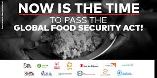 Action Needed To Pass The Global Food Security Act World