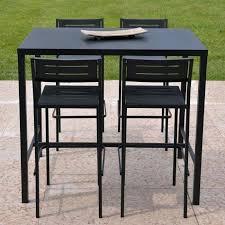 Table Haute Et Tabouret Pour Table Table Bar Cuisine Tabouret