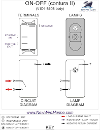 rocker switch wiring instructions new era of wiring diagram • rocker switch wiring diagrams new wire marine rh newwiremarine com 5 pin rocker switch wiring 5