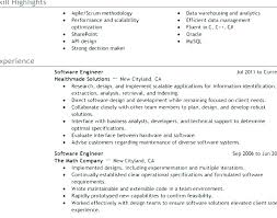 Objective In Resume For Software Engineer Experienced Objective In Resume For Software Engineer Experienced April Template
