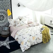 cotton home textile bedding sets squares triangle plaids duvet cover ties inside bed sheet pillowcases new