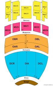 Gaillard Auditorium Seating Chart