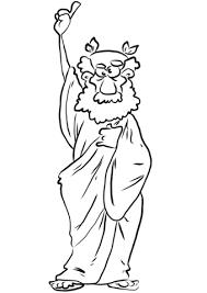 Disegno Di Antico Greco Cartone Animato Da Colorare Disegni Da