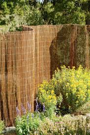 Natural garden fencing - we just got a couple of rolls of this and will be