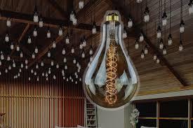oversized historic light bulbs the