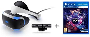 sony playstation vr games. sony playstation vr headset with camera cuhzvr1ecam + 1 game playstation vr games